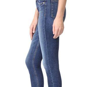 Rag and bone stud Cadiz skinny jeans GUC